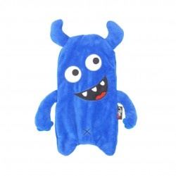Inky Plush Pencil Case (Blue Munch Monster)