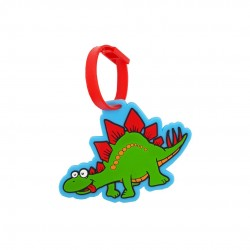 Inky Luggage Tag (Dinosaur)