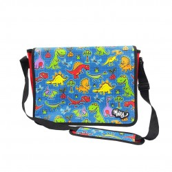 Inky Messenger Bag (Dinosaur)