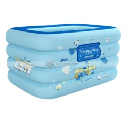Open Baby Rectangular Pool (Blue)