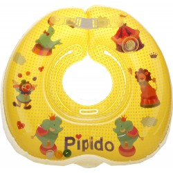 Pipido Premium Neck Float (Circus Yellow)