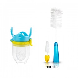 Kidsme Eco-Feeder (S) FOC Bottle & Nipple Brush