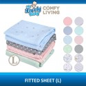 Comfy Baby Living Fitted Sheet 28 x 52 (L)
