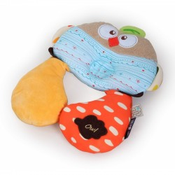 My Dear Baby Cutie Pillow & Neck Cushion Set-Owl
