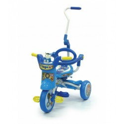 My Dear Foldable Tricycle with Foldable Parent Control Bar