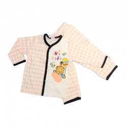 Pigeon BB Basic Boy Long Sleeve Vest + Long Pants Suit (Bear Bee - Orange)