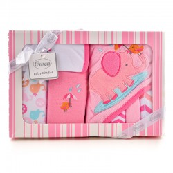 OWEN Baby 7 Piece Gift Set - PINK
