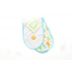 OWEN Baby Burp Cloth, 2 Piece Set - YELLOW