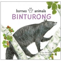 OYEZ Borneo Animals series: Binturong