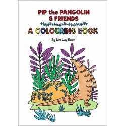 OYEZ Pip the Pangolin & Friends - A Colouring Book