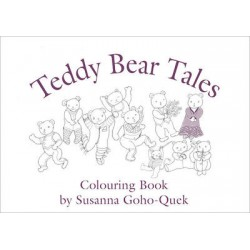 OYEZ Susanna Colouring Book - Teddy Bear Tales