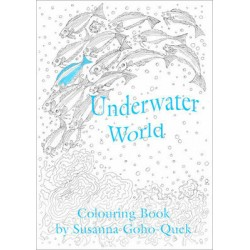 OYEZ Susanna Colouring Book - Underwater World