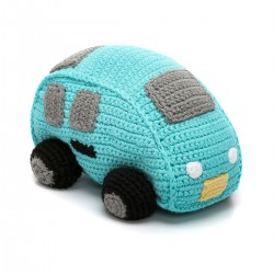 Pebble Rattles - Car Turquoise