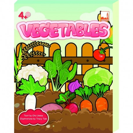 Dickens FLASHCRDS - VEGETABLES