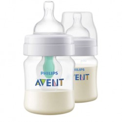 Philips Avent Anti-Colic Bottle 4oz/125ml (Twin Pack) (with Airfree Vent)