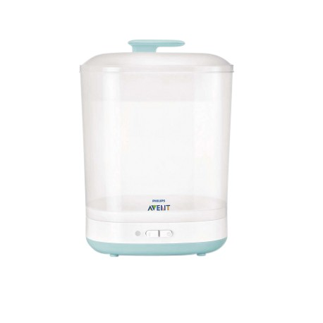 Philips Avent 2 in1 Sterilizer + Free Avent Pillow Chicken