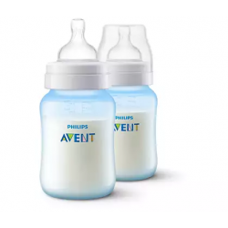 Philips Avent Anti-colic Bottle 9oz/260ml (Twin Pack) - White