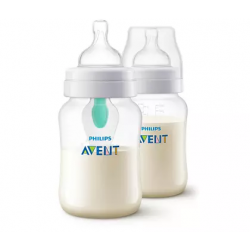 Philips Avent Anti-colic with AirFree Vent 9oz/260ml (Twin Pack)