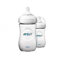 Philips Avent Natural Bottle 9oz/260ml (Twin Pack)