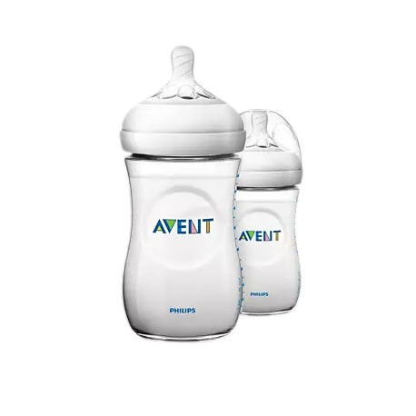 Philips Avent Natural Bottle 9oz/260ml (Twin Pack) (SCF693/23)