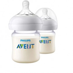 Philips Avent Natural PA Bottle 4oz/125ml (Twin Pack)