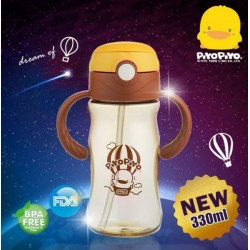 Piyo Piyo Dream High PPSU Bottle with Removable Handle 330ml/110z (Wide Neck) 6m+