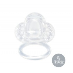 Piyo Piyo Teether (Round) w/Anti-Bacterial Case