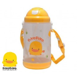 Piyo Piyo Anti-Bacterial Water Bottle W/Pop-up Lid Canteen 800cc