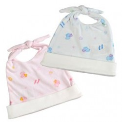 Piyo Piyo Abby Bear Dual Knots Newborn Bonnet