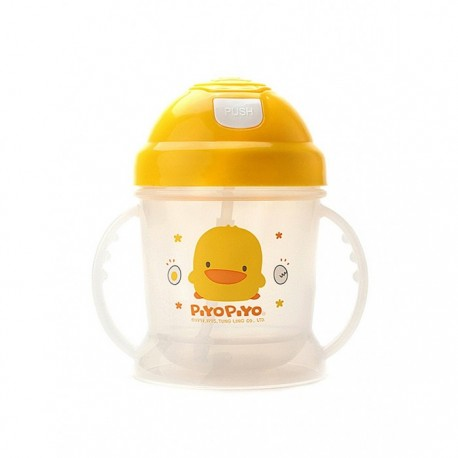 Anti-Bacterial Training Cup W/Pop-Up Lid 250ml
