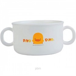 Piyo Piyo Anti-Bacterial Double Handled Soup Cup (Microwaveable)