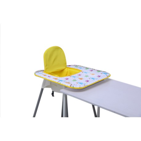 Poppy Seat High Chair Cover (Yellow Animal)