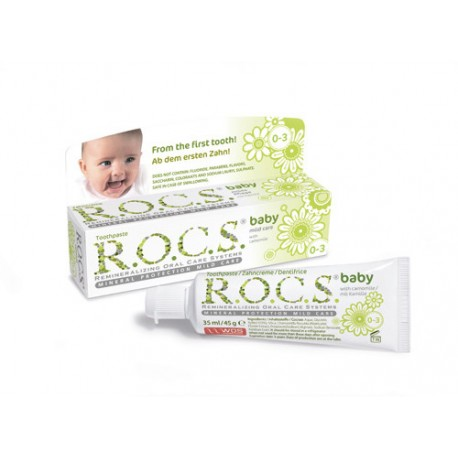 ROCS Baby (Camomile) Toothpaste