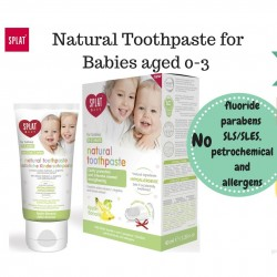 SPLAT Baby Apple-Banana Toothpaste (w/ finger-tip toothbrush) - 40ml