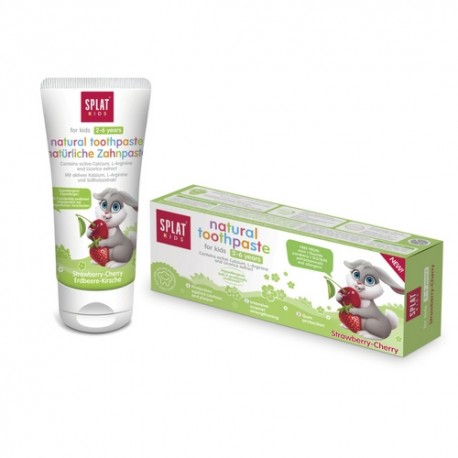 SPLAT Kids Cherry - Wild Strawberry Toothpaste 50ml (2 - 6 Years)