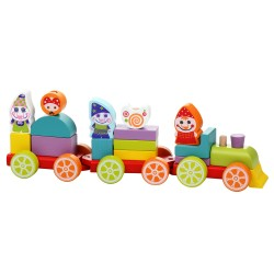 Cubika Train Dwarfs Treasure LP-4