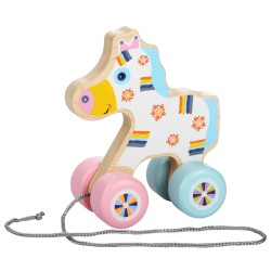 Cubika Happy Horsy Push & Pull Toy