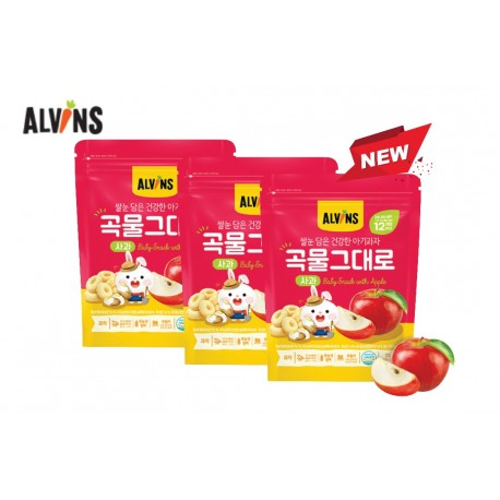 ALVINS Healthy Rice & Real Grain (Strawberry) x 3 Pkt