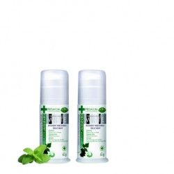 Dentiste Premium and Natural White Toothpaste with Pump Dispenser (60g x 2 Bottles)