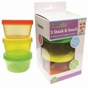 Treenie 3pcs Stack and Snack Container (2pcs)