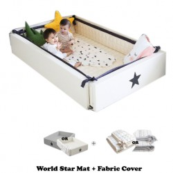 Ggumbi World Star Transformation Bed + Fabric Cover