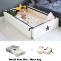 Ggumbi World Star Transformation Bed + Bean Bag