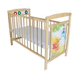 Royalcot R300 Baby Cot Winnie Natural