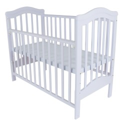 Royalcot R473 Baby Cot White