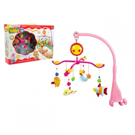 Royalcot Baby Cot Musical Mobile Baby Toys (Sea World)