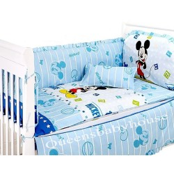 Royalcot Blue Mickey Bedding(70x130cm)