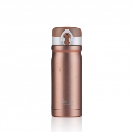 Relax Bottles 300ml 18.8 Stainless Steel Thermal Flask (Rose Pink)