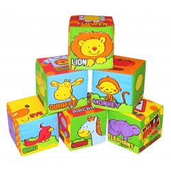 Simple Dimple My 1st Toy 6pcs Block Set Anmal Friends