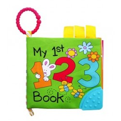 Simple Dimple My 1st Toy - Activity Cloth Book (123)