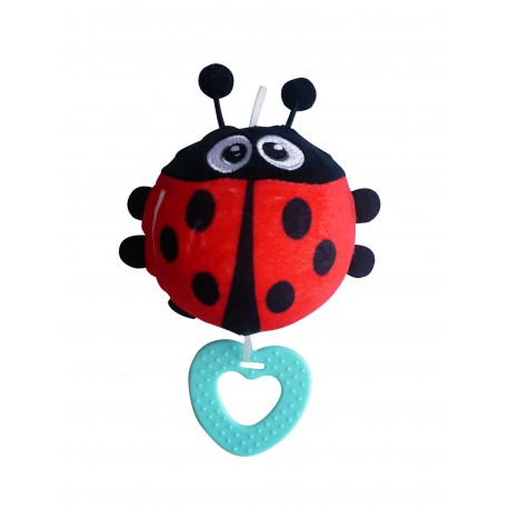Simple Dimple My 1st Toy - Plush Squishy Toy Ladybird